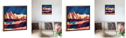 """iCanvas Desert Valley by Spacefrog Designs Gallery-Wrapped Canvas Print - 26"""" x 26"""" x 0.75"""""""