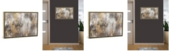 """iCanvas Gold Ikat by Pi Galerie Gallery-Wrapped Canvas Print - 18"""" x 26"""" x 0.75"""""""