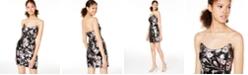 Teeze Me Juniors' Strapless Allover Sequin Dress
