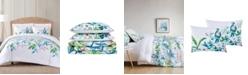 Oceanfront Resort Tropical Bungalow King Comforter Set