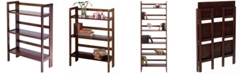 Winsome Wood Terry Folding Bookcase