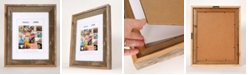 """Creative Gallery Rustic Reclaimed Barnwood 11"""" x 14"""" Picture Photo Frame"""
