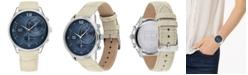 Tommy Hilfiger Women's Tan Leather Strap Watch 38mm