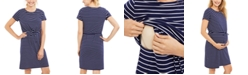 Motherhood Maternity Tiered Nursing Dress