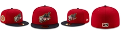 New Era Montgomery Biscuits Stars and Stripes 59FIFTY Cap