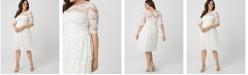 Kiyonna Women's Plus Size Aurora Lace Dress