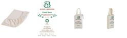 Sleep & Beyond Organic Cotton Fitted Sheet, Crib