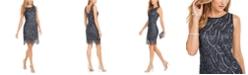 J Kara Embellished Sheath Dress