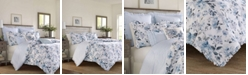 Laura Ashley Chloe Cottage Blue Duvet Set, Twin