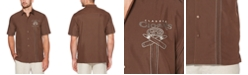 Cubavera Men's Cigar Graphic Shirt