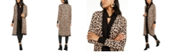 Thalia Sodi Printed Open-Front Longline Cardigan, Created for Macy's