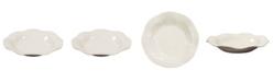 Howard Elliott Iridescent White Ceramic Plate