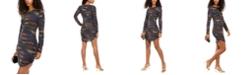 B Darlin Juniors' Glitter Bodycon Dress