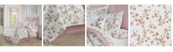 Royal Court Rosemary Rose Queen 4pc. Comforter Set