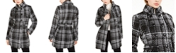 BCX Juniors' Double-Breasted Coat