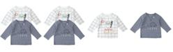 Mac & Moon Baby Boy and Girl 2-Pack Raglan Tees