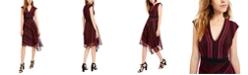 Nanette Lepore Crochet Asymmetrical Dress