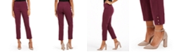 NY Collection Straight Leg Pull-On Pants
