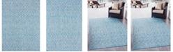 Bridgeport Home Pashio Pas7 Light Aqua Area Rug Collection