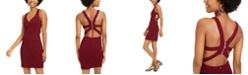 B Darlin Juniors' Strappy Sheath Dress
