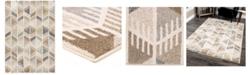 """Palmetto Living Riverstone Bilco Light Multi 5'3"""" x 7'6"""" Area Rug"""