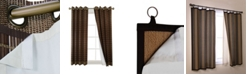 Versailles Home Fashions Sulatg Thermal Ler for Bamboo Grommet Top Panels Collection
