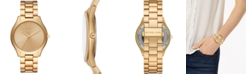 Michael Kors Women's Slim Runway Aluminum Bracelet Watch 42mm, Created for Macy's