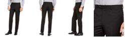 Lauren Ralph Lauren Men's Slim-Fit UltraFlex Stretch Black Solid Suit Pants