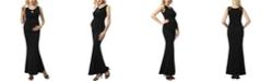 kimi + kai Cate Maternity Mermaid Maxi Dress