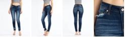 Kancan Mid Rise 5 Pocket Skinny Jeans
