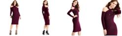 RACHEL Rachel Roy Metallic Halter Bodycon Dress