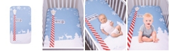 Trend Lab North Pole Flannel Photo Op Crib Sheet