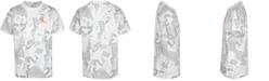 Jordan Big Boys Cotton Future Of Flight Printed T-Shirt