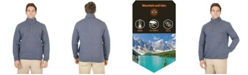 Mountain And Isles Men's 1/4 Snap Quilted Pullover