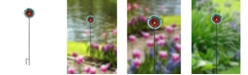 Creative Motion Stained Glass Garden Stake
