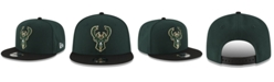 New Era Boys' Milwaukee Bucks Basic 9FIFTY Snapback Cap
