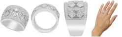 Macy's Diamond Filigree Wide Band Statement Ring (1-1/4 ct. t.w.)