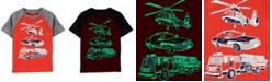 Carter's Toddler Boys Cotton Rescue Vehicles T-Shirt