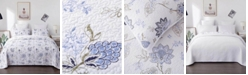 JANEEN HOME Yva Floral Print Embroidery Combo Quilt 3-Pc Set