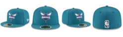 New Era Big Boys Charlotte Hornets Basic 59FIFTY Fitted Cap