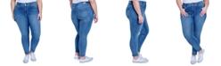 Seven7 Jeans Trendy Plus Size Tummyless Skinny Jeans