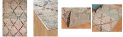 "Asbury Looms Jules Diamonds 3000 00875 24 Multi 1'10"" x 3' Area Rug"