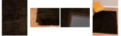 "Asbury Looms Bliss Lurleen 2300 00120 33 Chocolate 2'7"" x 3'11"" Area Rug"