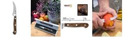 "Carl Schmidt Sohn TESSIN German 2.75"" Peeling Knife with Walnut Handle"