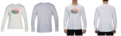 Hurley Men's Lightning Logo Long Sleeve T-Shirt