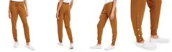 Planet Gold Juniors' Side-Snap Jogger Pants