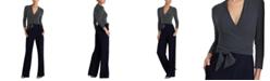 Lauren Ralph Lauren Color-Blocked Belted Jumpsuit