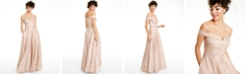 Say Yes to the Prom Juniors' Off-The-Shoulder Gown, Created for Macy's