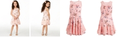 Epic Threads Little Girls Butterfly-Print Challis Dress, Created for Macy's