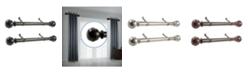 "Rod Desyne Jovian 1.5"" Side Curtain Rod 12-20"" (Set of 2)"